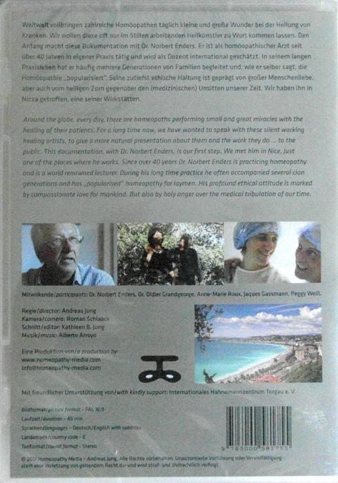DVD Dr. Enders - Grosse Homöopathen unserer Zeit