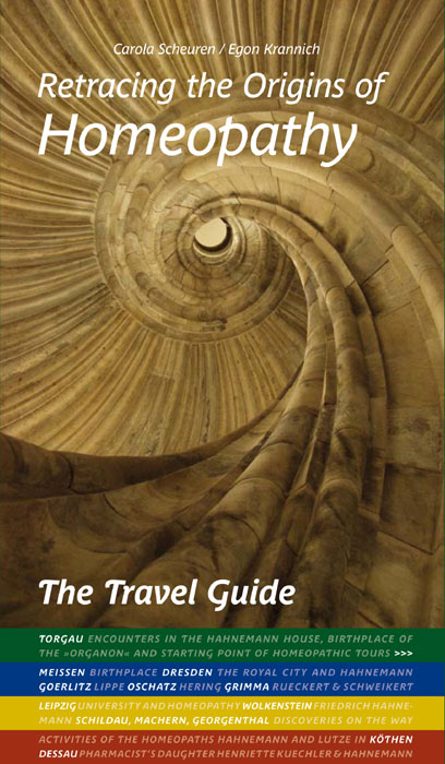 Scheuren Krannich Homeopathy Travel Guide Cover Front